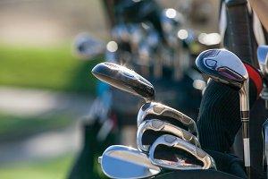 Golf club invite.
