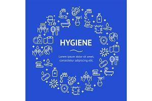 Hygiene Round Design Template