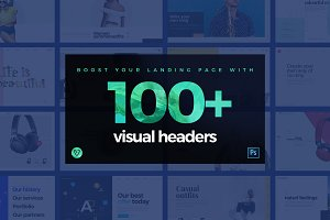 100 Visual Website Headers