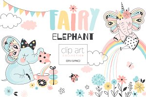 Fairy Elephant creation kit