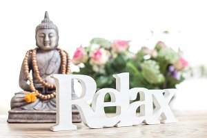 Relax and be calm.