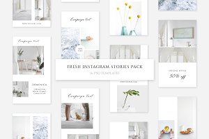 Fresh Instagram Stories Pack