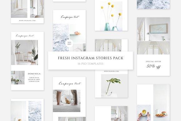 Fresh Instagram Stories Pack
