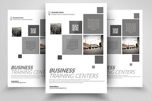 Clean Business Flyers