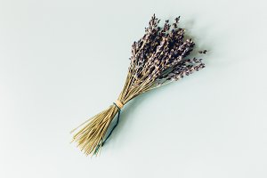 Rustic Lavender Bunch Blog Photo