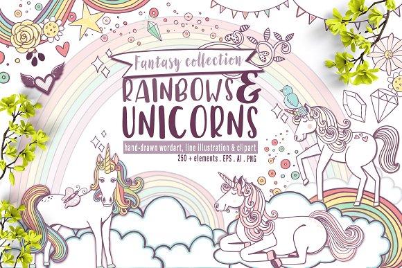 Rainbows Unicorns