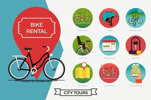 Bicycle Rental Set