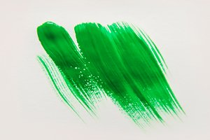 Texture paint on white background.