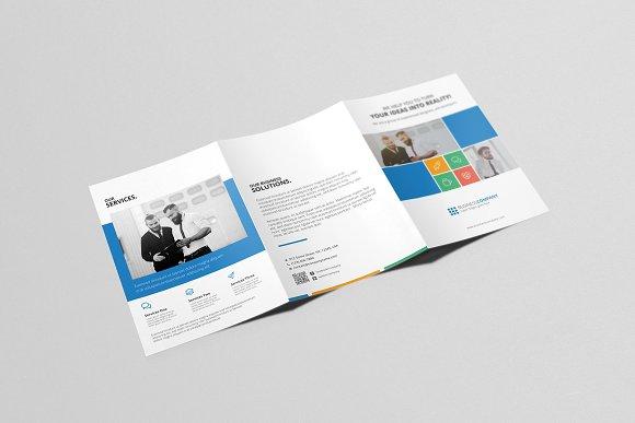 a5 tri fold brochure brochure templates creative market