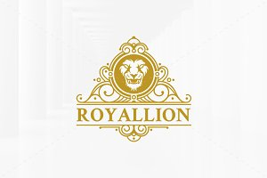 Luxury Lion Logo Template