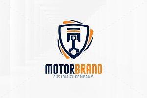 Motor Brand Logo Template