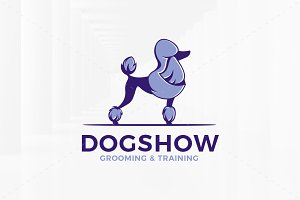 Dog Show Logo Template