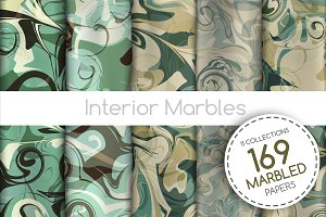 The BIGGEST Marbled Paper Collection