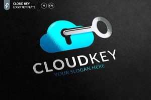 Cloud Key Logo