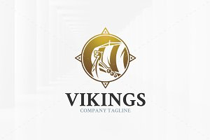 Vikings Logo Template