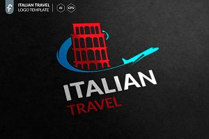 Italian Travel Logo