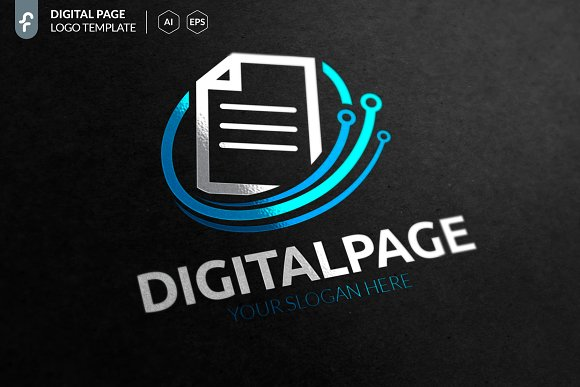 Digital Page Logo