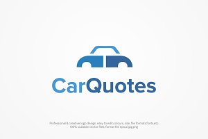 Car Quotes Logo Template