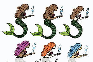 Mermaid Variations