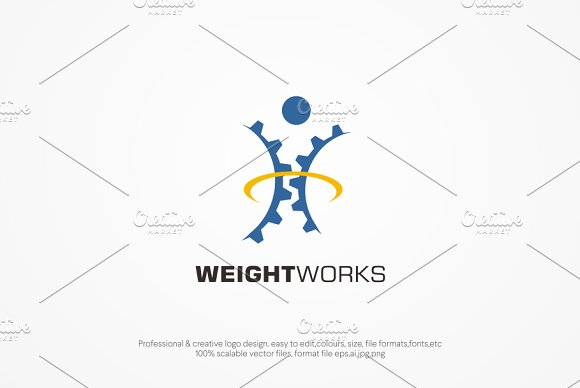 Wight Works Logo template