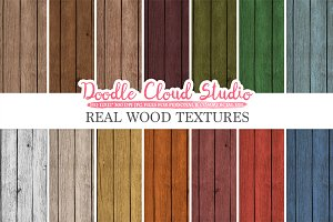 Real Wood digital paper