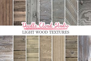 Light Wood digital paper