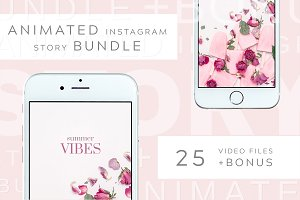 Animated Instagram Story bundle