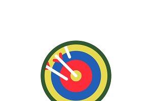 Illustration of target icon