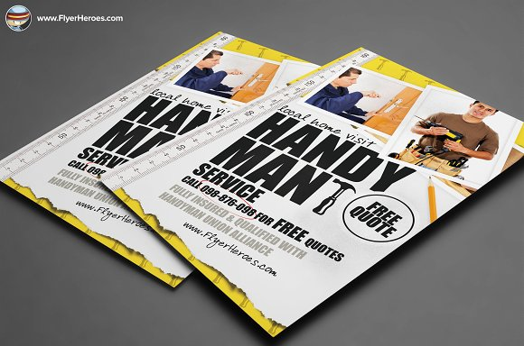 Best Publisher Flyer Templates Web Creative All Handyman Flyer