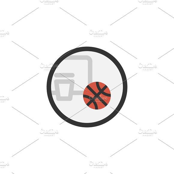 Illustration Of Basketball Icon