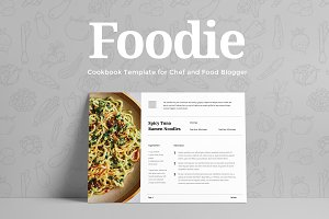 Foodie - Cookbook Template