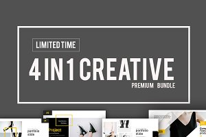 4 in 1 Creative Bundle Keynote