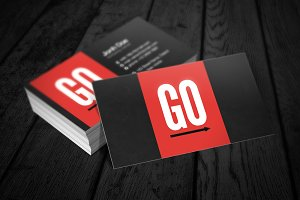 GO Business Card