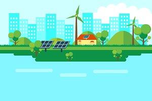 Green Energy Solar pack
