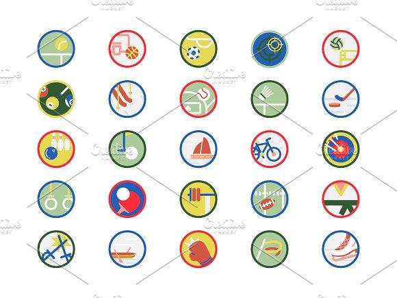 Illustration Set Of Sports Icons