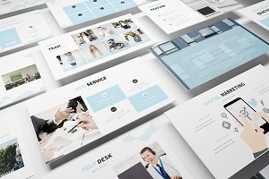 Hosting & SEO Keynote Template