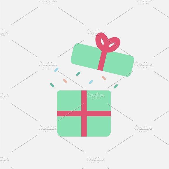Illustration Of Birthday Present