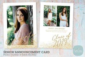 AG022 Senior Graduation Card