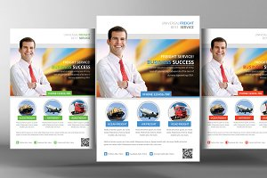 Freight Flyer Template
