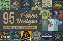 95 T-Shirt Designs