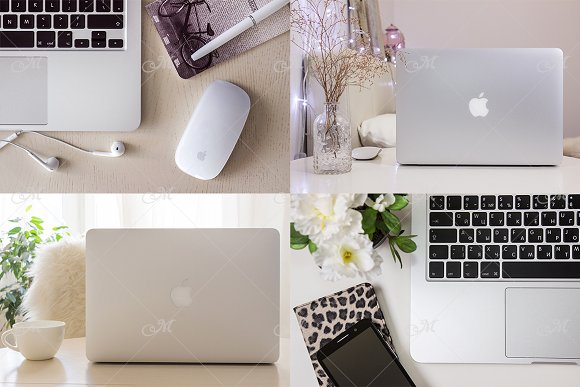 Macbook Mock-up Bundle Vol.1 JPEG