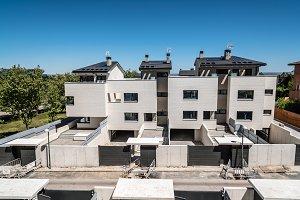 Modern residential development