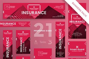 Banners Pack | Insurance Company