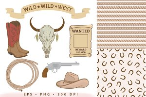 14 Rodeo Collection EPS & PNG