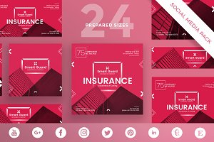 Social Media Pack | Insurance Compan