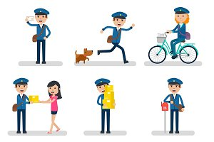 Postman Character Collection