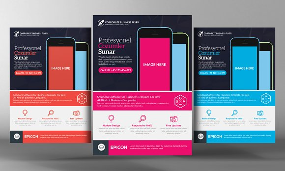 Alternative Mobile App Flyer
