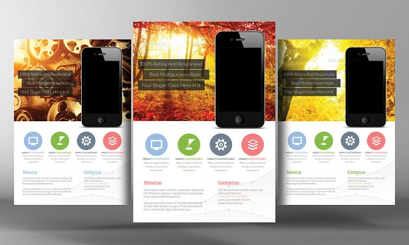 Mobile App Promotional Flyer