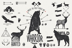 Hand Drawn Wild Animal Pack