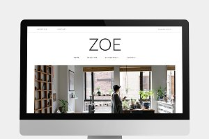 Zoe - Simple & Clean Blog Theme